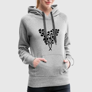 Decoration Leaves Decoration - Women's Premium Hoodie