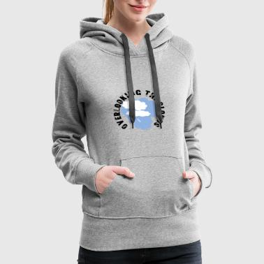 Cloud OVERLOOKING THE CLOUDS - Women's Premium Hoodie