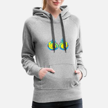 Graphic Art graphics art - Women's Premium Hoodie