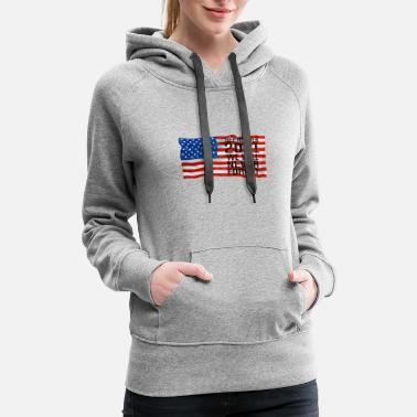 Trade September 11 2001 World Trade Center - Women's Premium Hoodie