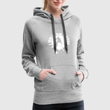 I walk on water - Women's Premium Hoodie
