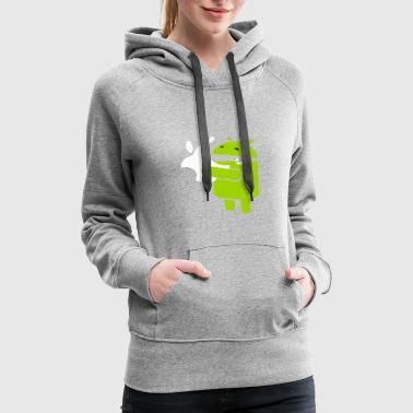 Web Developer Icon Humor - Women's Premium Hoodie