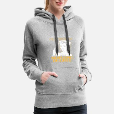 Masters OLD WOMAN NURSING DEGREE - Women's Premium Hoodie