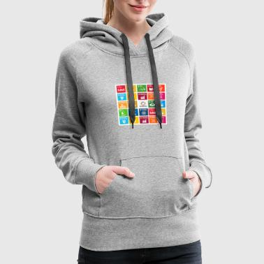 global goals - Women's Premium Hoodie