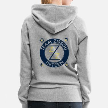 Movie Team Zissou Costume - Women's Premium Hoodie