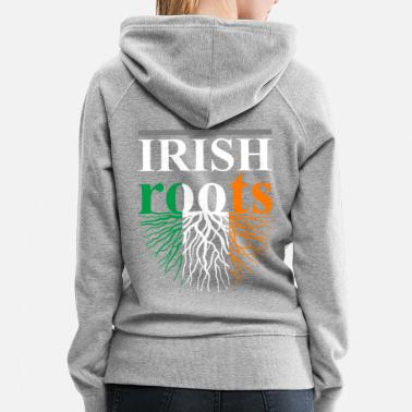 Irish Roots Irish Roots Tshirt - Women's Premium Hoodie