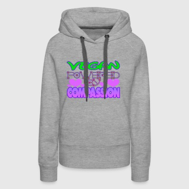 POWERED BY COMPASSION - Women's Premium Hoodie