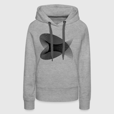 Hypnotic Tunnel - Women's Premium Hoodie