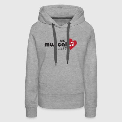That Musical Feeling - Women's Premium Hoodie