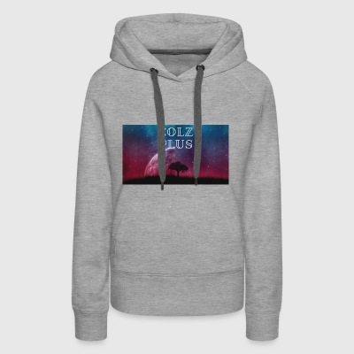 half moon, full tree - Women's Premium Hoodie