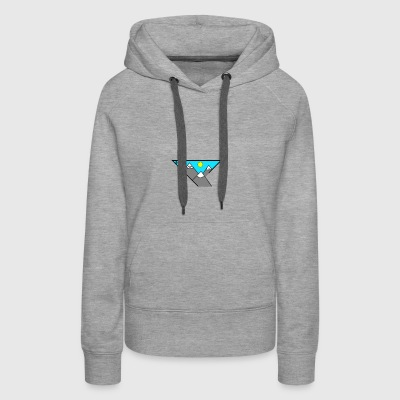 simple mountain illustration - Women's Premium Hoodie