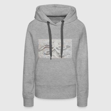 Sand made octopus - Women's Premium Hoodie