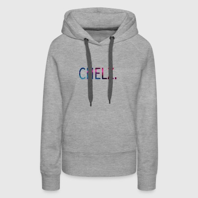 Chelz Cotton Candy Design - Women's Premium Hoodie