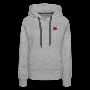Red Rose Listing Photo 2048x 2x - Women's Premium Hoodie