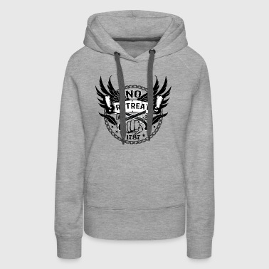 No Retreat - Constitution - Women's Premium Hoodie
