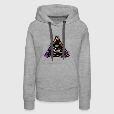The ripped eye - Women's Premium Hoodie