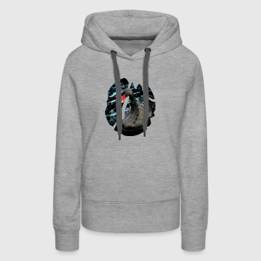 The Black Swan - Women's Premium Hoodie