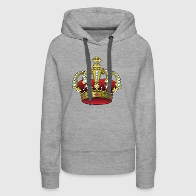 krone crown koenig king castle schloss tower burg2 - Women's Premium Hoodie