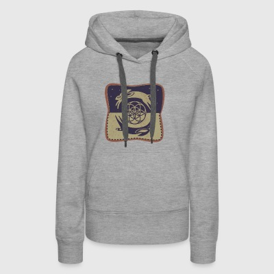 Rabbit and The Moon - Women's Premium Hoodie