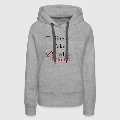 Sired To Damon Salvatore. - Women's Premium Hoodie