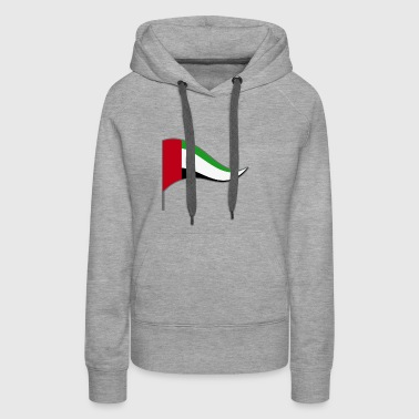 Arab Emirates Abu Dhabi Flag Banner Flags Ensigns - Women's Premium Hoodie