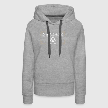 A Malcolm Printer and Bookseller Gift Tee BO - Women's Premium Hoodie