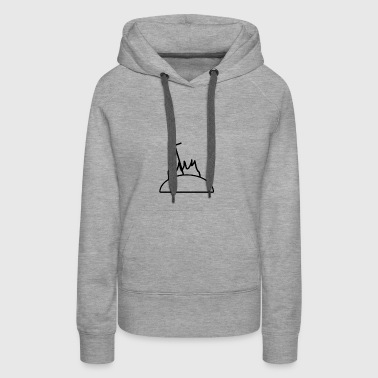 Sword in Fire - Women's Premium Hoodie
