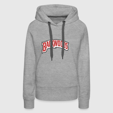 backwoods good logo - Women's Premium Hoodie