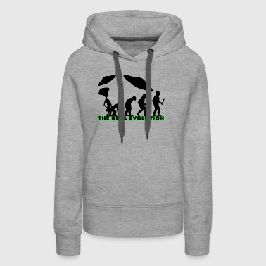 EVOLUTION the real evolution - Women's Premium Hoodie
