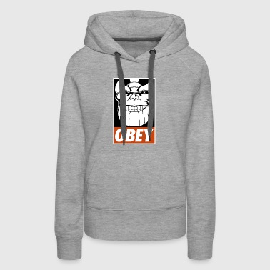 Obey the Titan - Women's Premium Hoodie