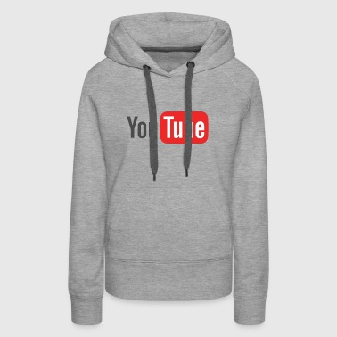 The Youtube Merch - Women's Premium Hoodie