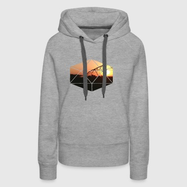 Pivot at Sunset Graphic - Women's Premium Hoodie