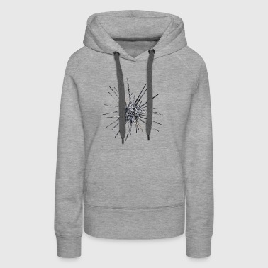 space sea urchin - Women's Premium Hoodie