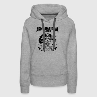 Army National Guard shi - Women's Premium Hoodie