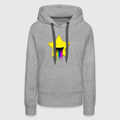 Star throw up - Women's Premium Hoodie
