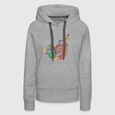 Colorful Dragon - Women's Premium Hoodie
