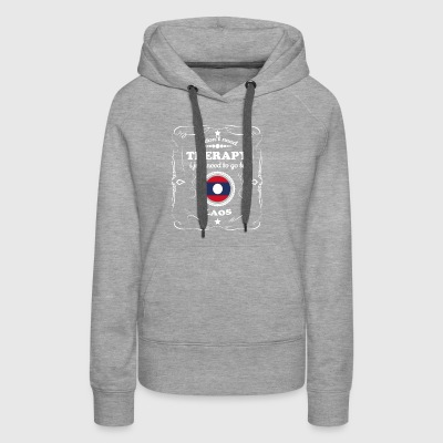 DON T NEED THERAPIE WANT GO LAOS - Women's Premium Hoodie