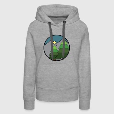 Over the mountains and through the woods - Women's Premium Hoodie