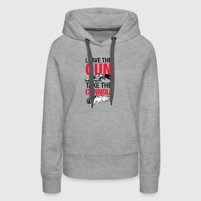 Leave the gun - Women's Premium Hoodie