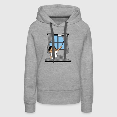 Close de window T Shirt - Women's Premium Hoodie