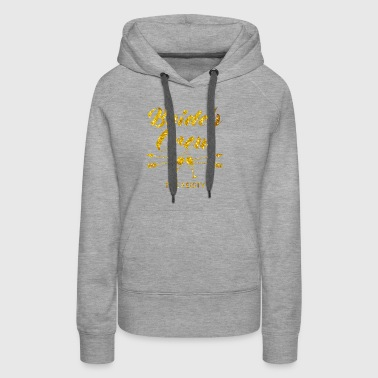 Perfect Brides Crew Bachelorette Party with golden - Women's Premium Hoodie