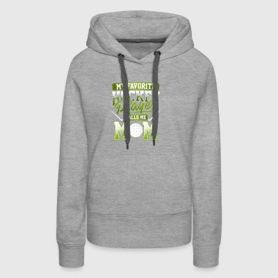 Hockey Players Mama gift - Women's Premium Hoodie