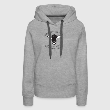 Working Cattle - Women's Premium Hoodie