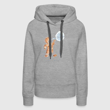 Oh Snap! Gingerbread Man Gift Christmas - Women's Premium Hoodie