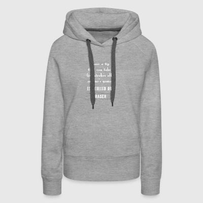 FUNNY GOLF I HAVE A TIP THAT CAN TAKE FIVE STROKES - Women's Premium Hoodie