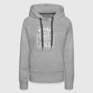 Vintage Made In 1937 - Women's Premium Hoodie