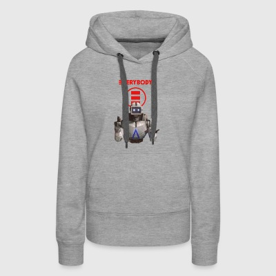 everybody - Women's Premium Hoodie