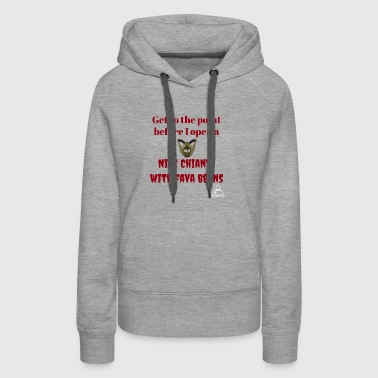 Get to the point - Women's Premium Hoodie