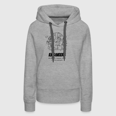 frustrated engineer - Women's Premium Hoodie