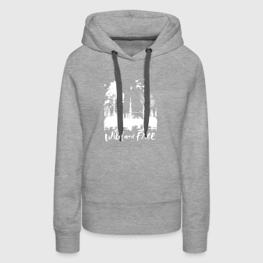 Wild and Free Products - Women's Premium Hoodie